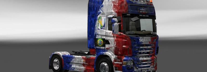 Skin Scania France Copa 2014