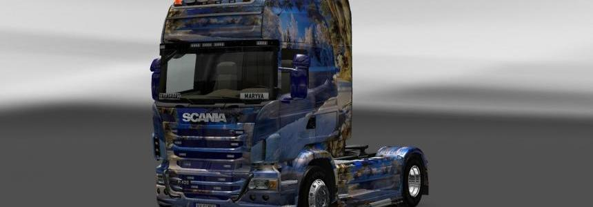 Skin Scania Winter