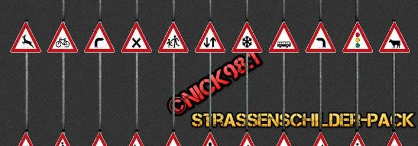 Streetsigns Pack v3.1