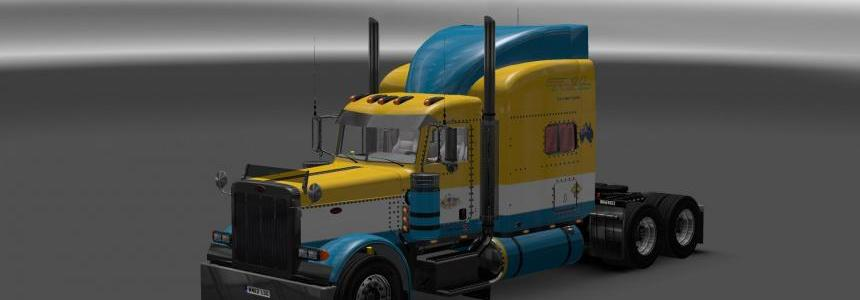 Toll skin for Peterbilt 389