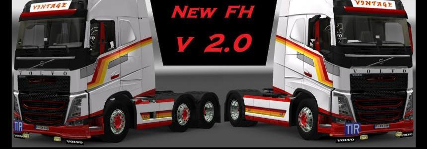 Vintage style New FH skin v2.0