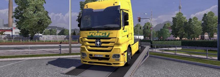 Voigt Logistik Mercedes MP3 Skin