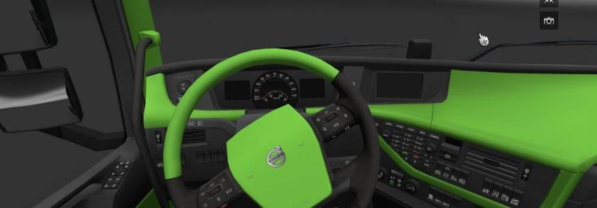 Volvo 2012 Green interior