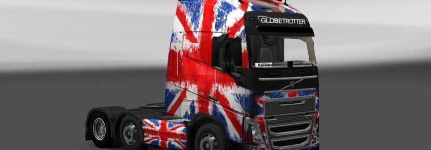 Volvo FH 2012 England Copa 2014 Skin