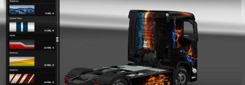 Volvo FH Fire skin