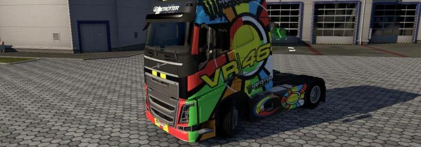 Volvo Valentino Rossi 46 Sun and Moon Skin