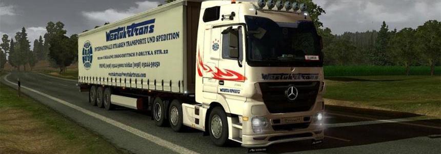 West Truck Trans trailer