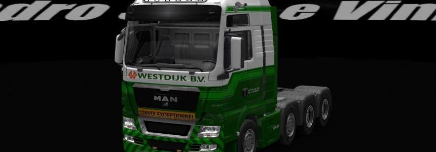 Westdijk BV MAN Skin mod