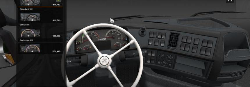 White Steering Wheel Pack