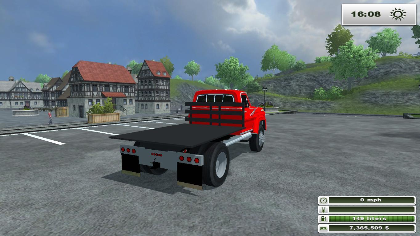 Farming Simulator 2013 Ford F 450 Flatbed Autos Post