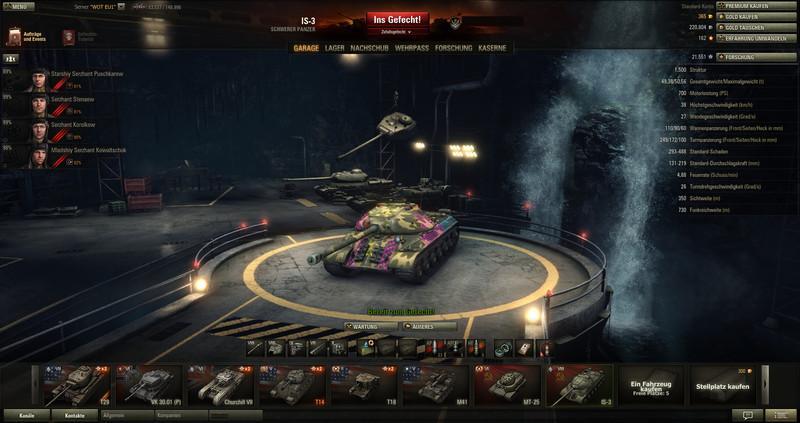 4th of july garage world of tanks mod