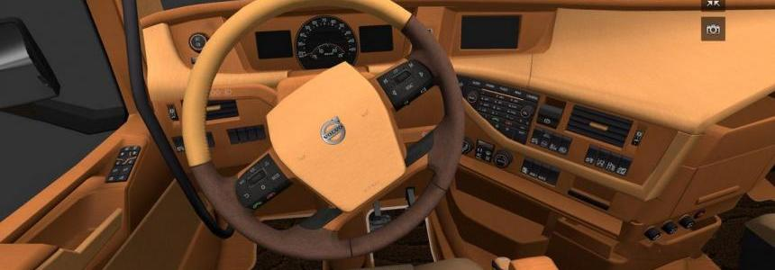 Carmina Wood and Leather interior for Volvo 2012