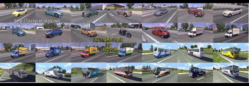 AI Traffic Pack by Jazzycat v1.0