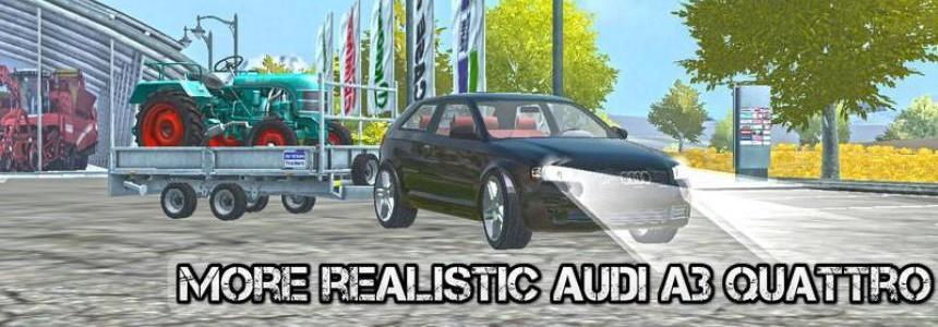 Audi A3 Quattro v2.0 MR