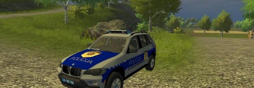 BMW X5 Serbian Police v1.0