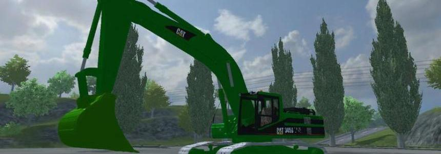 CAT 345B Pack in Forstskin v4.1