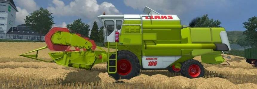 Claas Dominator 106 Pack v1.0 + MR