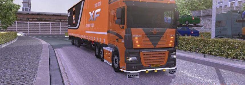 DAF XF 50keda+Trailer 1.9.24.1s