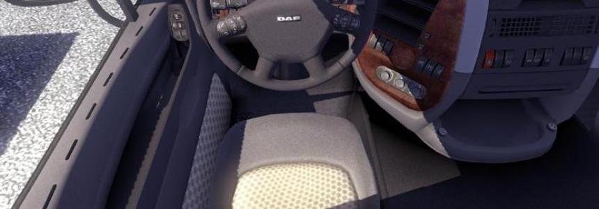 DAF XF driver's seat