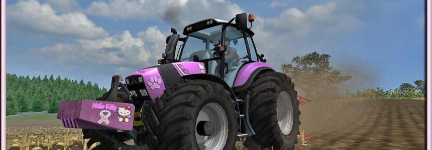 Deutz 430 Agrotron TTV Hello Kitty Edition V1.1