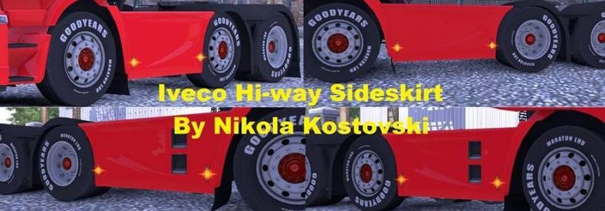 Iveco Hi-way Sideskirts 6x2 & 6x4