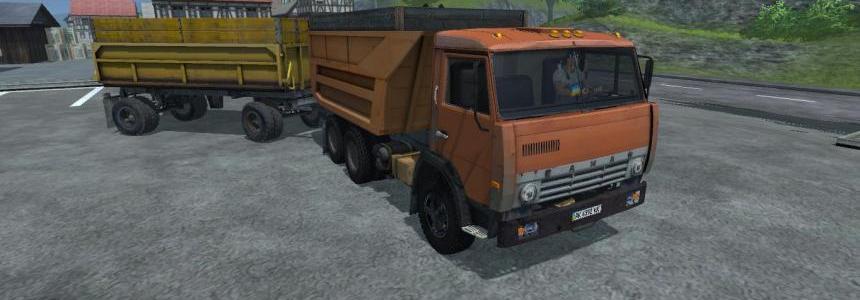 KAMAZ-55111 + GBK-8527 Trailer