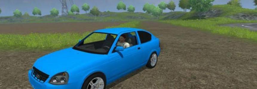 Lada Priora Coupe v2.0 blau