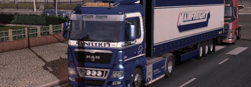 Mainfreight – MAN & Trailer 1.9.22