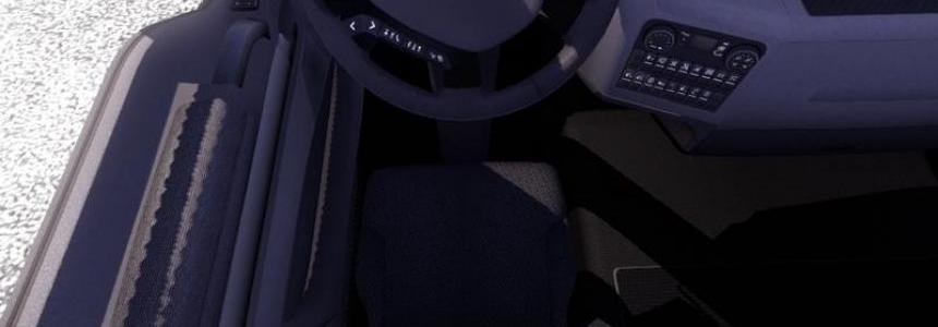 MAN TGX driver's seat