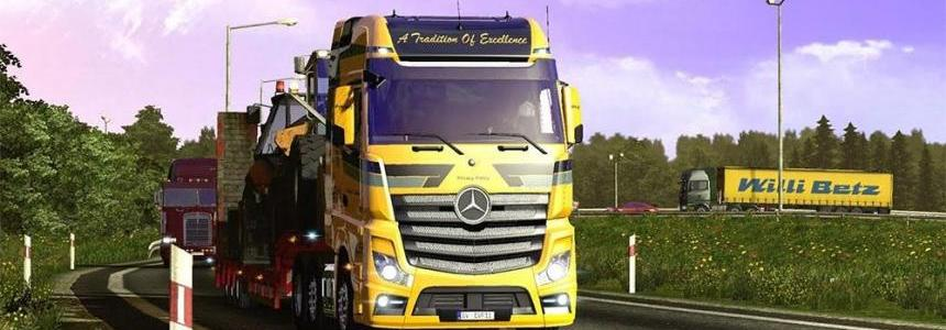 Mercedes Actros Open Pipe (Sounds Not Real)