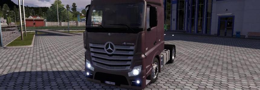 Mercedes Benz Actros MP4 v4