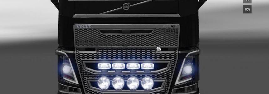New position in the mask Volvo FH2012