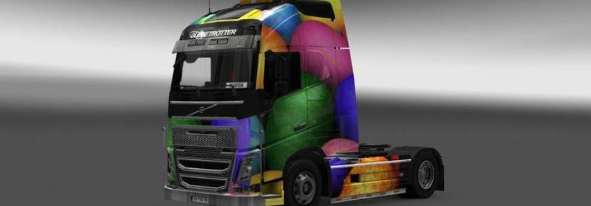 Oster skin volvo fh16 2012