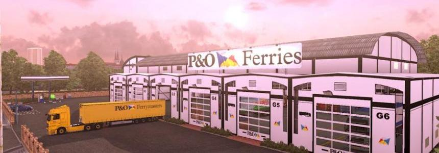 Pack P&O Garage Custom – Trailer Profiliner – Mercedes Actros