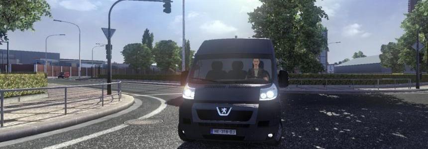 Peugeot Boxer Van – AI car