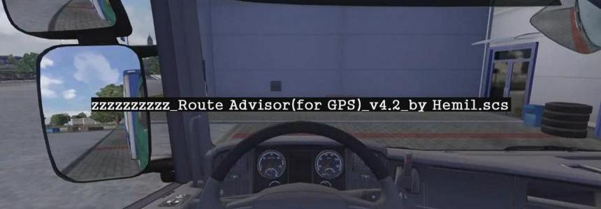 Route Advisor Mod Collection v4.2 by Hemil