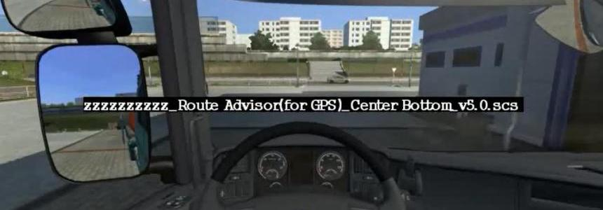 Route Advisor Mod Collection v5.0 by Hemil