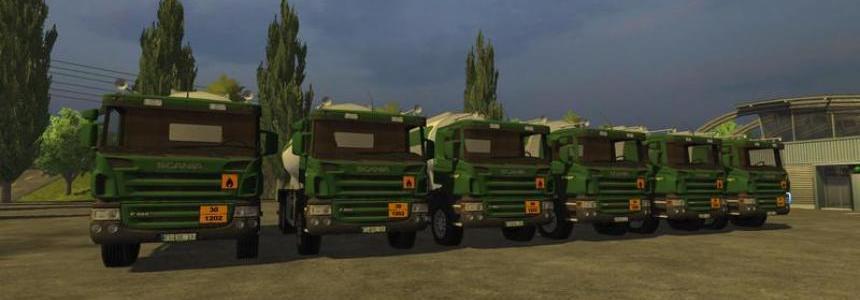 Scania diesel tank truck v2.0