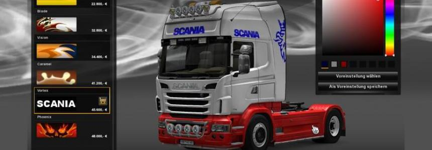 Scania look color change