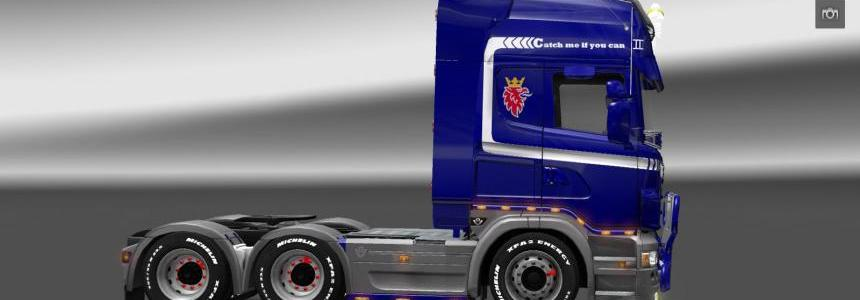 Scania R skin – Catch me if you can 1.9.22
