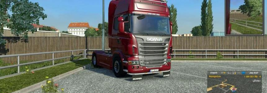 Scania R & Streamline V8 & L6 Sound mod Update