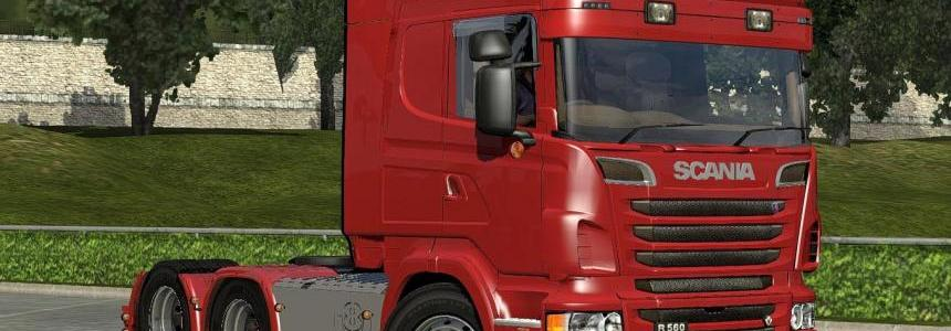 Scania R2 Tag-axle