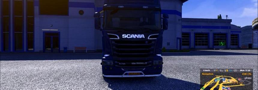 Scania R2009 V8 sound