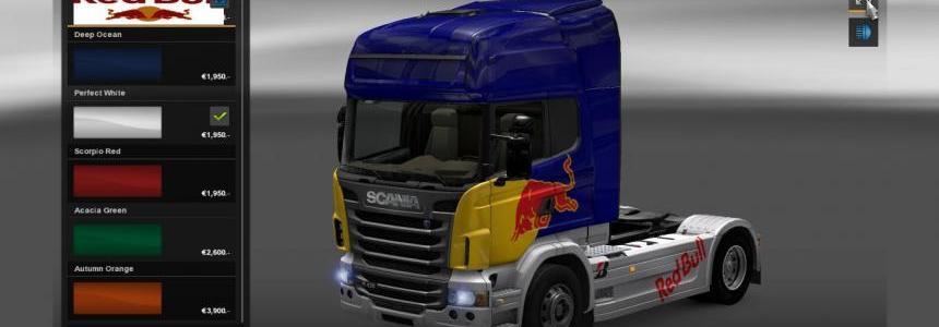 Scania Red Bull Skin v2