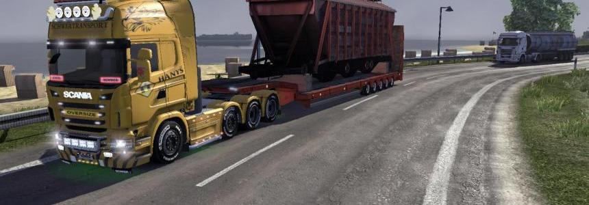 Scania Schwertransport Hanys v1