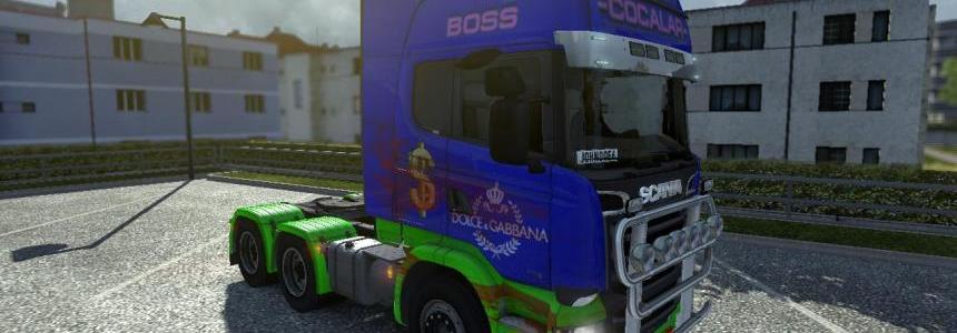 Scania Streamline – Bloody Cocalar
