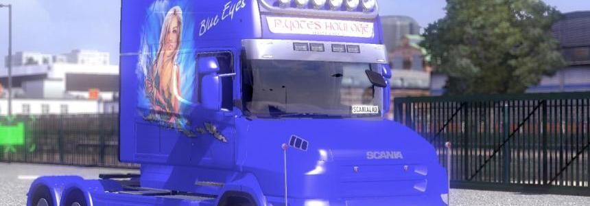 Scania Tcab Longline Blue Eyes