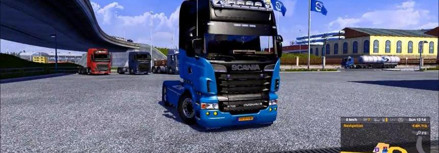 Scania V8 New Engine Sound