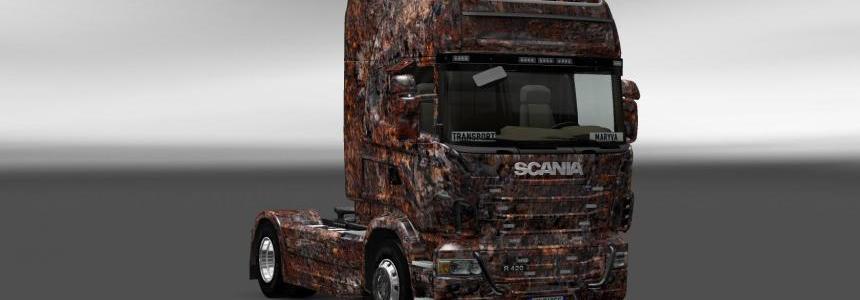 Skin Scania Ferrugem V4