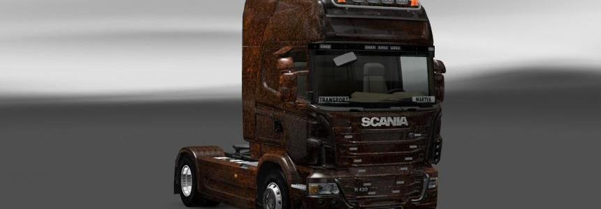 Skin Scania Ferrugem V5